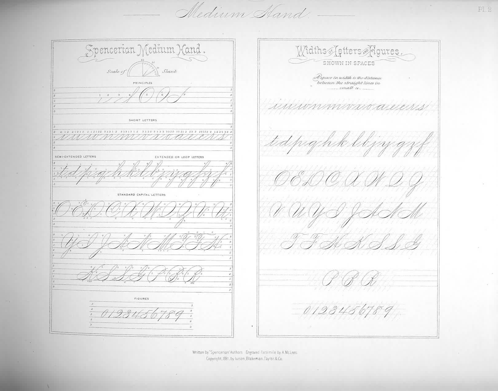 This Is How I Practice Spencerian My Calligraphy Pieces