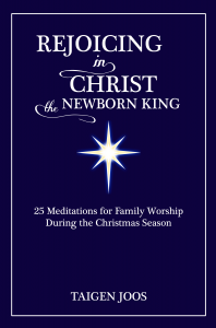 Rejoicing in Christ the newborn king