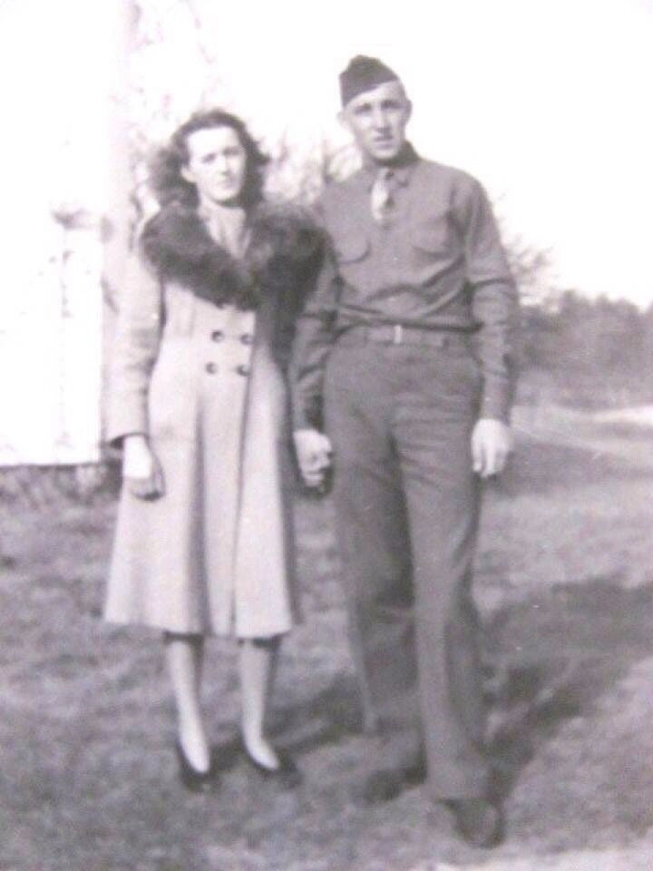 My grandparent's celebrated their 68th wedding anniversary yesterday. Love this pic of them.