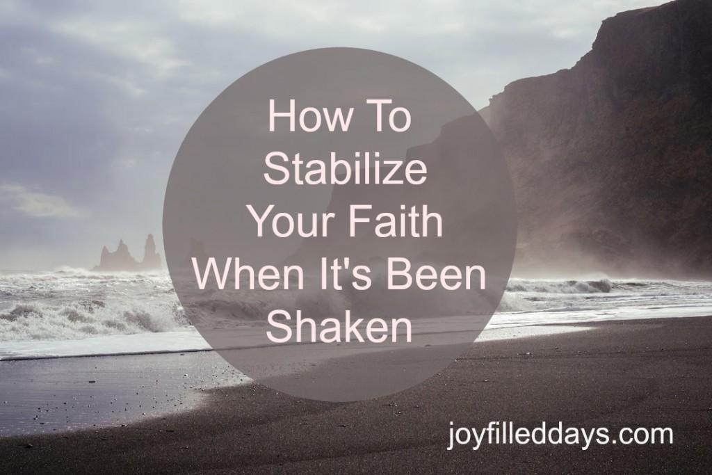 stabilize faith