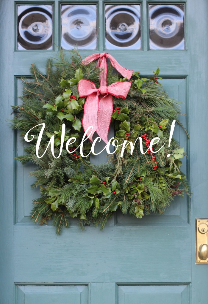 Wreath Welcome