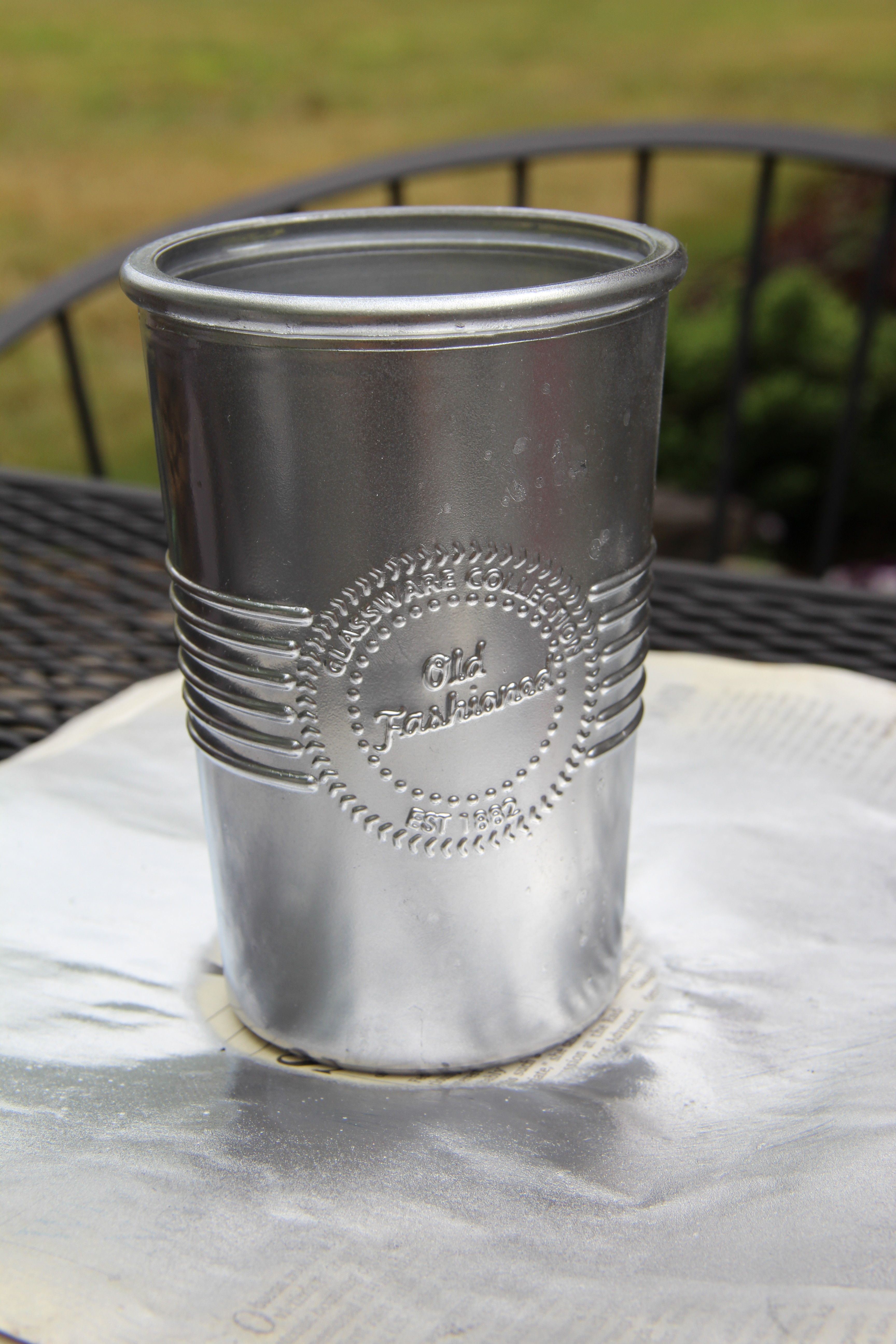 Diy old pewter mint julep cups joy filled days my 2 year old foster son squirted me and the cup with his water blaster lol it did no harm and he thought reviewsmspy