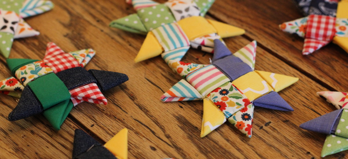 How to Make Scandinavian Star Ornaments