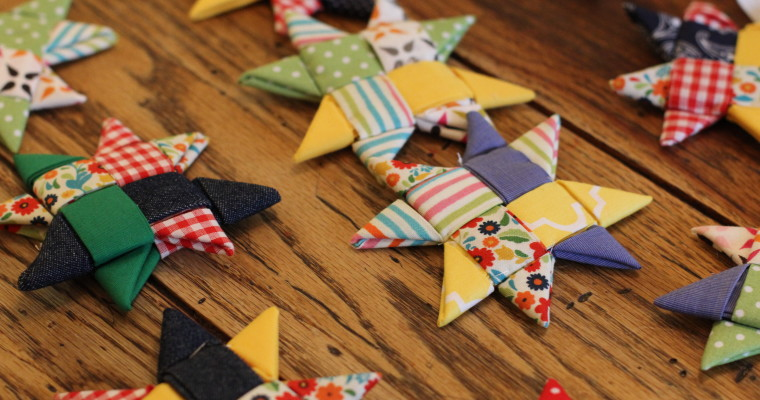 How to Make Scandinavian Star Ornaments